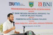 Wujudkan Smart City, Pemkot Padang Panjang MoU Dengan BNI Wilayah Padang