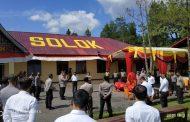 Kunjungi Polres Solok, Wakapolda Sumbar Berikan Arahan Kepada Personel