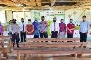 Sosialisasi AKB, Polsek Sikakap Bersama Tim Covid Pagut Sambangi Tiga Gereja