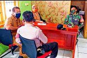 Koramil 04/Sikakap Bersama Polsek Komsos Dengan Kasi Pembangunan Kecamatan
