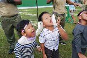 Ikuti Prokes, Keluarga Besar Kodim 0319/Mentawai Suguhkan Perlombaan Bagi Anak-anak