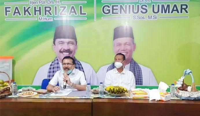 Pilkada Sumbar 2020, Irjen Fakhrizal Resmi di Usung Partai Golkar