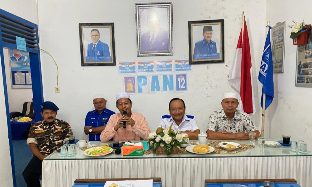 Partai PAN Resmi Dukung Pasangan Hamsuardi-Risnawanto Pilkada Pasbar 2020