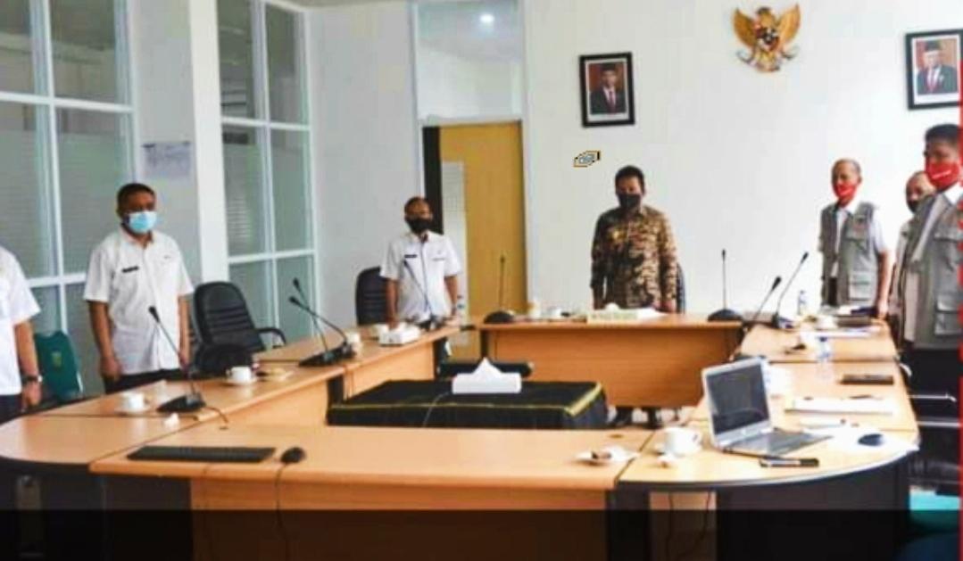 Dibuka Presiden RI, Wawako Padang Panjang Ikuti Webinar ANPK