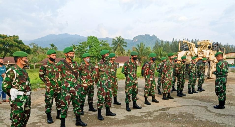 16 Tamtama Remaja Baru Asal Pulau Terluar Kembali Tugas di Kodim 0319/Mentawai