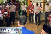 Pengamanan Pendaftaran Paslon di KPU, Polres Pasbar Terjunkan 95 Personel