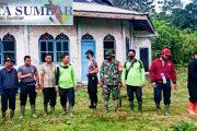 Aktifkan Kembali Masjid di Km 37, Koramil Sikakap Goro Bersama Dengan Warga