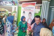 Masyarakat di Dapil V Pessel Topangkan Harapan Kemenangan Paslon Rusma-Rudi