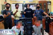 Dua Buron Pelaku Pembobol ATM Berhasil di Tangkap Satreskrim Pessel di Kota Pekanbaru