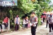Sosialisasi Perda AKB, Kapolsek Himbau Masyarkat Patuhi Prokes