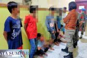 Resahkan Masyarakat, 7 Pelajar Digelandang Satpol PP Mentawai