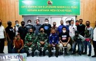 Dandim 0311/Pessel Jalin Silahturahmi Dengan Wartawan