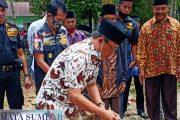 Peletakan Batu Pertama Pembangunan Laga laga, Cabup Wali Ferry di Dampingi Ketua Pekat IB Padang Pariaman