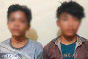 Bongkar Makam Untuk Ilmu Hilang, Dua Pemuda di Amankan Polsek Sikakap