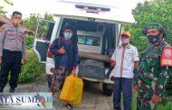 Dinyatakan Sembuh, Koramil Sikakap Bantu Pemulangan Pasien Covid-19 Ke Dusun Manganjo