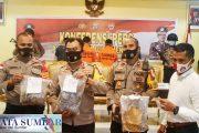 Polsek Siberut Bekuk Tiga Pemuda, Ganja Seberat 1,5 Kg dan Sabu Berhasil Diamankan