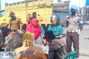 Operasi Yustisi, Polres Pasbar Bersama Tim Gabungan Lakukan Penertiban Prokes