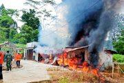 Tempat Usaha Photo Copy di Km.9 Tuapejat Hangus di Lalap Sijago Merah