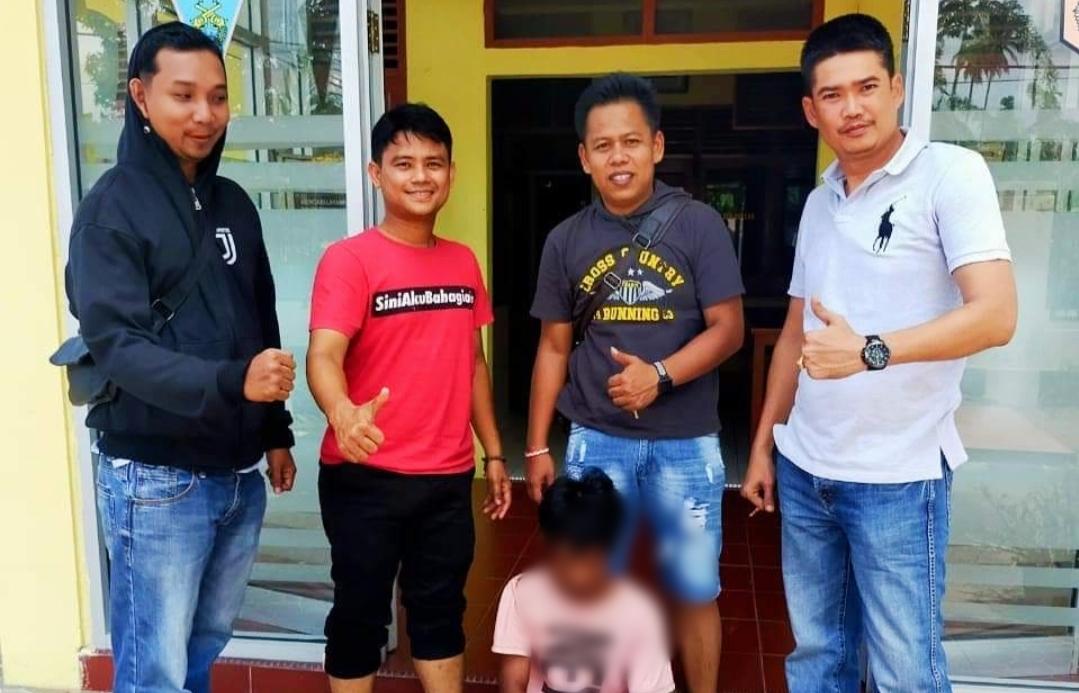 Pelaku Jambret Lintas Kecamatan Berhasil di Tangkap Polsek Sutera