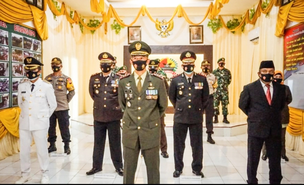 Upacara Peringatan HUT Ke-75 TNI Secara Virtual di Hadiri Sekdako Pariaman