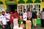 Pokdar Kamtibmas Pasbar Salurkan Bantuan Sembako Untuk Panti Asuhan