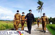 Kunjungan Ke Desa Cubadak Mentawai, Plt Wako Pariaman : Banyak Keluhan Petani, Terutama Irigasi Air Sawah