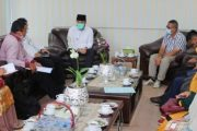 Jalin Komunikasi Intensif, FTBM Silahturahmi Dengan Wako Fadly Amran