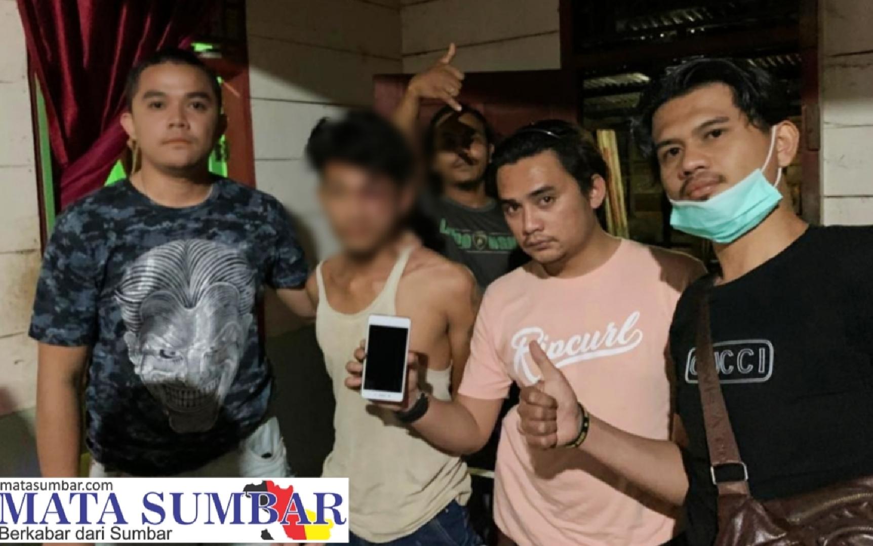 TEKAB Reskrim Mentawai Kembali Tangkap Pelaku Pencuri Handphone