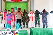 Penerapan Perda AKB, Satgas Covid-19 Sikakap Sampaikan Himbauan di GKPM Nemnemlelu