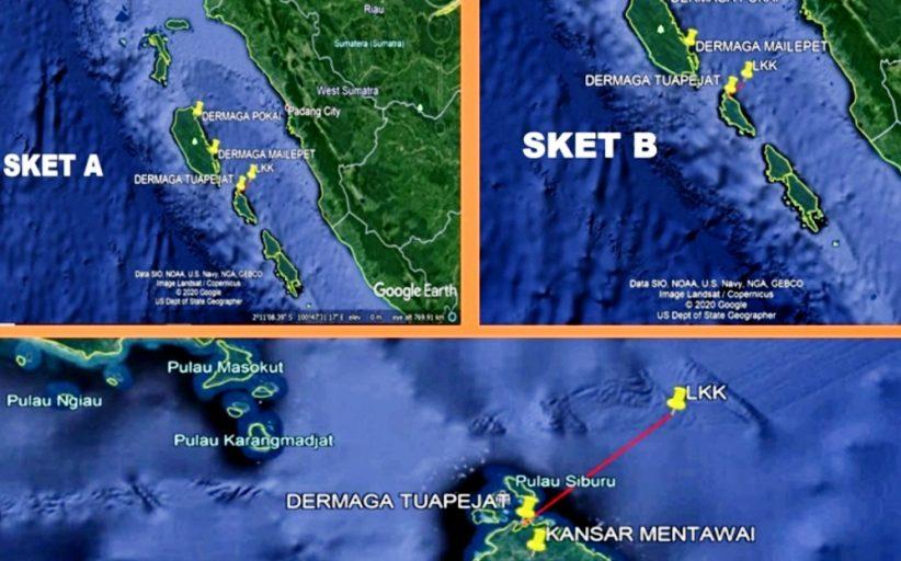 Kapal Tundo Mati Mesin, Tim Gabungan SAR Mentawai Lakukan Operasi