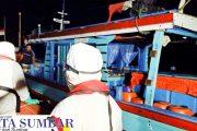 Kapal Nelayan Mati Mesin Ditemukan, Tiga POB Berhasil di Evakuasi