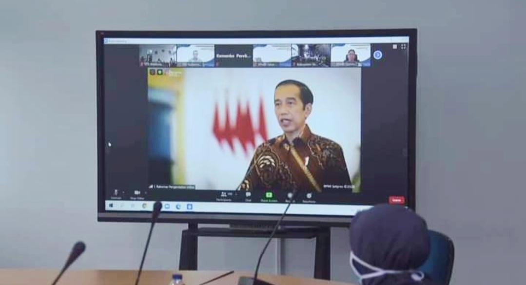 Pemko Padang Panjang Ikuti Rakornas Tim Pengendalian Inflansi 2020