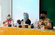 Pertemuan Kader Posyandu, Ketua PKK : Meski di Masa Pandemi Posyandu Harus Tetap Berjalan