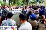Tolak Omnibus Law Ciptaker, Aliansi Mahasiswa Pasbar Kembali Lakukan Unras