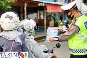 Jelang Operasi Zebra, Polres Pasbar Himbau Masyarakat Lengkapi Surat Kendaraan