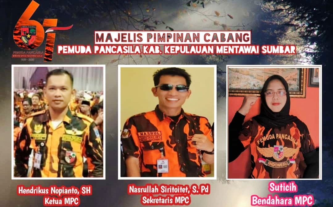 HUT Ke-61 PP, Ketua MPC Mentawai : Jadikan Evaluasi Diri, PP Bukan Organisasi Preman!
