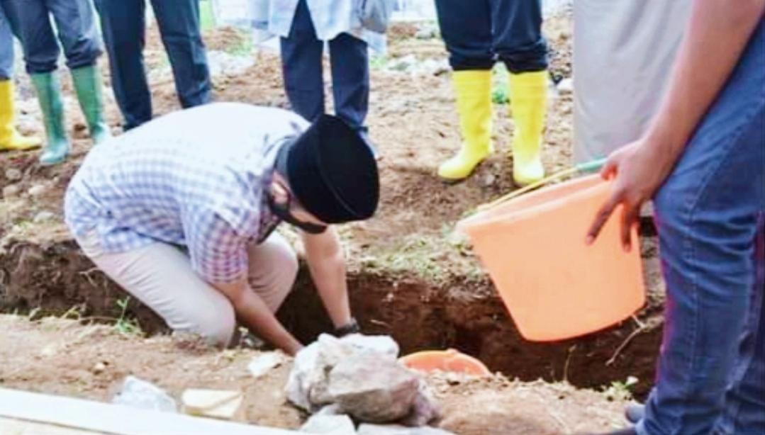 Wako Fadly Letakan Batu Pertama Pembangunan Mushalla Al Muhajirin