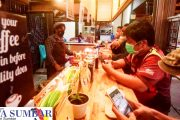 Cafe Coffee Om Bento Tetap Beraktivitas, Patuhi Prokes, Insya Allah Rejeki Terus Mengalir
