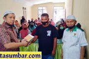 81 Mustahiq Kembali Terima Bantuan Dana Zakat Program Padang Panjang Cerdas dan Sehat