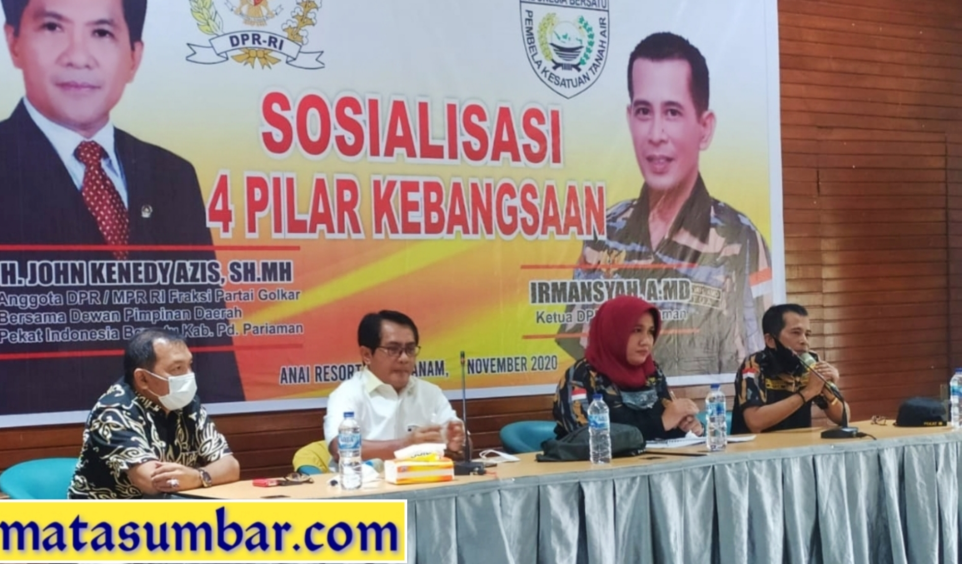 DPD Pekat IB Padang Pariaman Gelar Sosialisasi 4 Pilar Kebangsaan