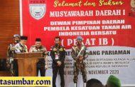 Musda I DPD Padang Pariaman Sukses, Irmansyah Ajak Seluruh Kader Tetap Solid
