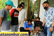 Satresnarkoba Polres Pasbar Tangkap Dua Orang Pengguna Narkoba di Lokasi Berbeda