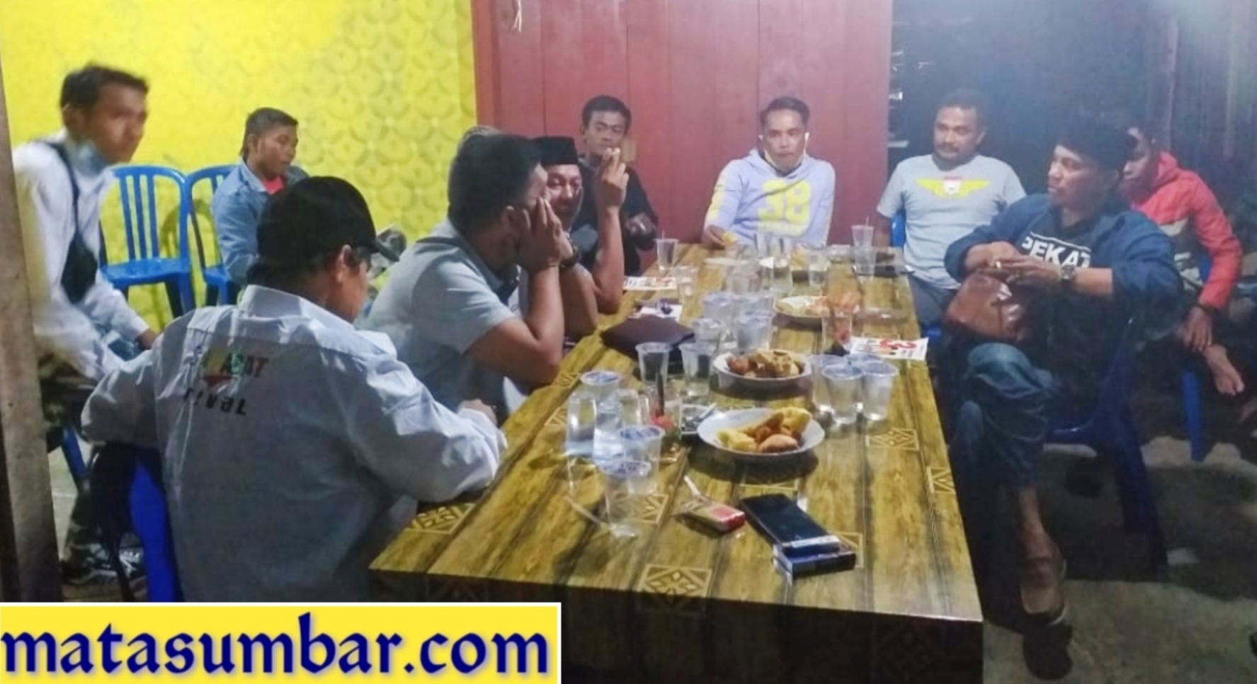 Ketua DPW Pekat IB Sumbar Kunjungi Posko Pemenangan Darmatani