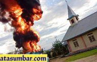 Breaking News, SPBU di Pokai Siberut Utara Terbakar