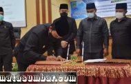 APBD 2021 Kota Padang Panjang Resmi di Sahkan
