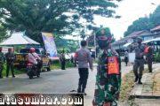 Komitmen Cegah Covid-19, Kodim 0319/Mentawai Rutin Lakukan Patroli