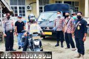 Logistik Kotak Suara Dari Kecamatan Sipora Selatan Menuju KPU di Kawal Personel Polsek Sipora