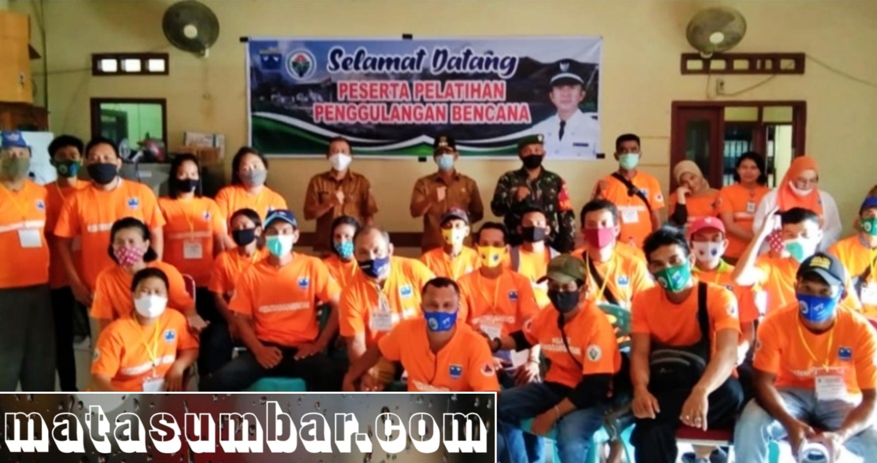 Personel Koramil 04/ Sikakap Hadiri Pelatihan Penanggulangan Bencana