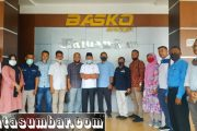 Studi Banding H 2, Pemkab Tanah Datar Bersama Wartawan Sambangi Kantor Haluan Riau