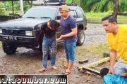 Tertangkap Tangan Saat Transaksi Sabu, Dua Pemuda di Ringkus Polsek Kinali